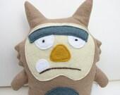 Phil the Monster Doll - Stuffed Animal, Softie, Toy, Plush, Felt