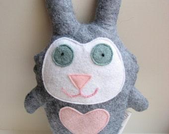 Nora the Rabbit Doll - Bunny, Stuffed Animal, Softie, Toy, Plush, Felt