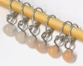 Peaches n Cream Melody Ring Removable Stitch Markers