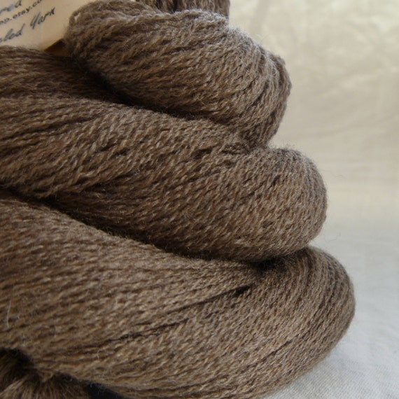 Sand Dune Extra Fine Italian Merino Wool Recycled Lace Weight Yarn
