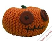Knitting Pattern PDF. Pumpkin Head (Small). Knit Your Own Jackolantern