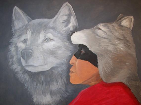 Gawonisgo gvdodi Waya (Talks with the Wolf)