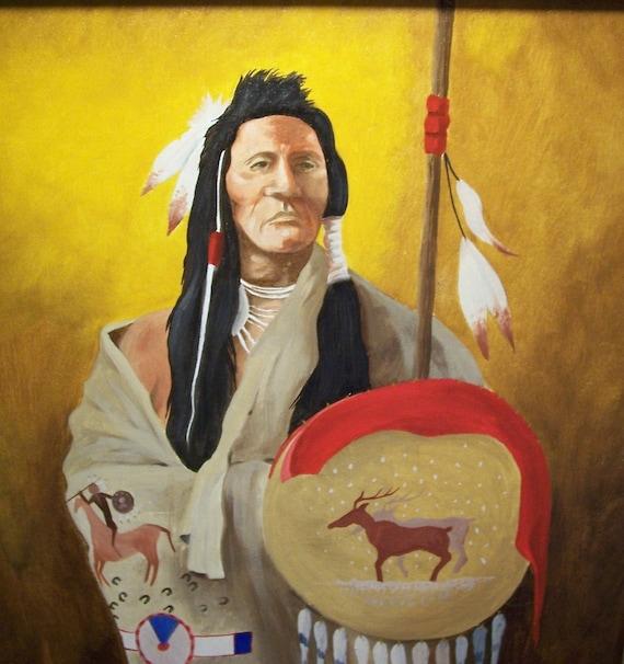 Elk Hunter Original Oil Painting