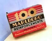 100 Vintage Marlboro Paper Reinforcements - Size 2, Gummed