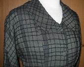 Brigadoon - 1950's Mossy Green Plaid Jacket