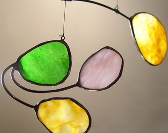 Stained Glass Hanging Moblle