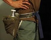 Rugged Camo Canteen Belt