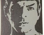 Star Trek 2009 Spock Painting