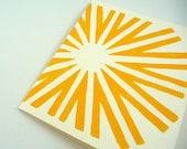 Sunshine Card - Happy Yellow