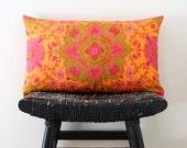 SHANGRI LA Silk Cushion Cover, Throw Pillow, 50 x 30 cm, 20 x 12 inch