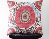 ORISSA Linen Cushion Cover, Throw Pillow, 55 cm x 55 cm, 22 inch x 22 inch