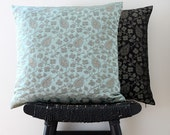 ODYSSEY Aqua Silk Cushion Cover, Throw Pillow, 45 x 45 cm, 18 inch