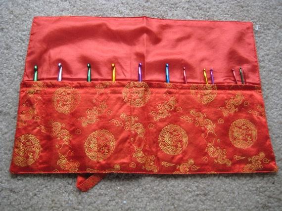 Silk Knitting needle Roll CASE