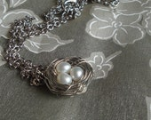 Birds Nest Necklace MADE TO ORDER