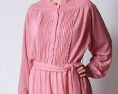SALE, Romantic Rose Dress, L