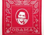 Red Obama Bandanna