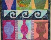 The Urn Shop Art Quilt