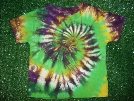 2T Mardi Gras Tie Dye Tshirt