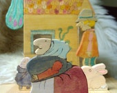 Strega Nona Playset RESERVED for Clydena