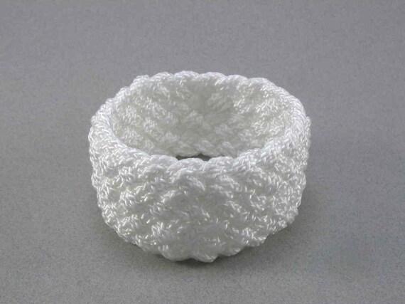 wide nylon turks head knot rope bracelet 1486