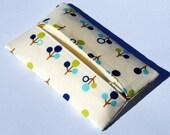 Tissue Holder - Blue Green Blue Trees