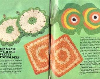 Vintage Crochet Potholders