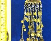 Vintage Kuchi Jewelry Piece Multi Dangle Tribal Belly Dance