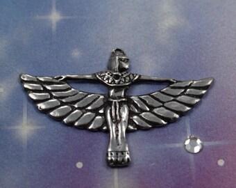 Egyptian Pendant - Goddess Isis Amulet Charm - Isis Egyptian Necklace