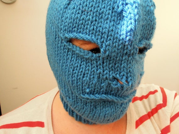 Blue Knit Balaclava (Proceeds benefit Pussy Riot)