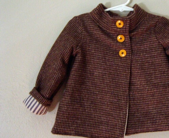 18 month flannel coat