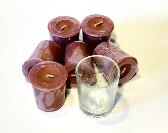 6 Pack Handcrafted Frankincense & Myrrh Soy Votives