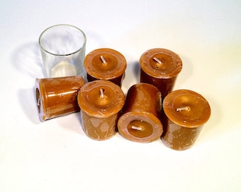 6 Pack Banana Nut Bread Soy Votives
