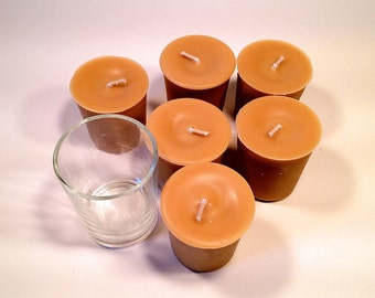 6 Pack Hot Baked Apple Pie Soy Votives