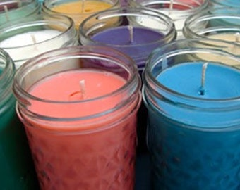 8 oz Hand Poured Highly Scented Soy Candle