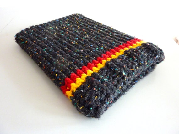 Laptop sleeve case 13 inch Macbook sleeve laptop cover multicolor -  black speckled