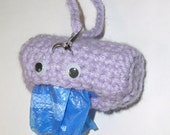 Doggie Poo Bag Holder MONSTER - You pick the color