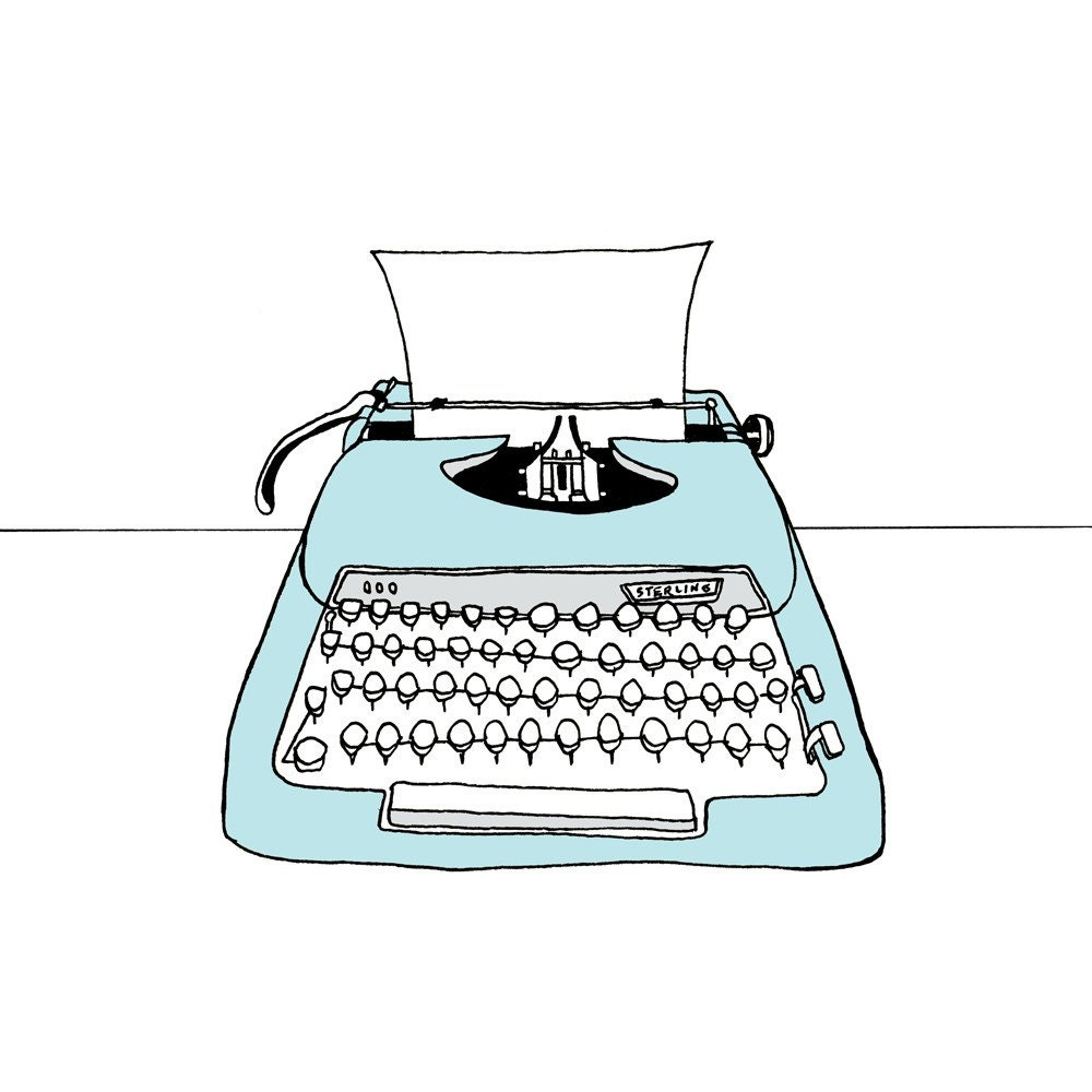 Simple Typewriter Drawing | www.imgkid.com - The Image Kid ...