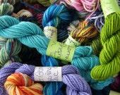 Spring Pastels - Mini Skeins Fingering Sock Yarn Kit - Mini Mania (9)