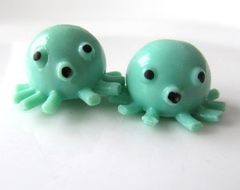 Octopuses Are Great Huggers - Needle Buddies - Small Sock Size Double Pointed Needle DPN Holders