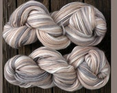 Pure wool yarn Iceland bulky weight,  stone, tan, gray and ivory