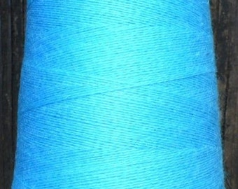 cashmere wool blend yarn,    lace weight,   turquoise