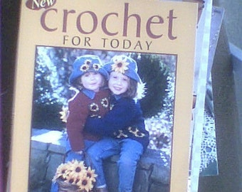 Instruction crochet book filled with crochet ideas for today