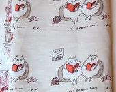 Reading Cats Fabric