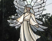 Angel Stained glass , beautiful angel , customized