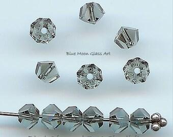 4.5mm BLACK DIAMOND Swarovski Crystals 5310 Simplicity - 24