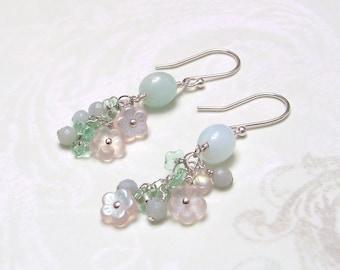 Pastel Bouquet Earrings