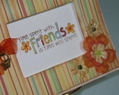 Time Spent with Friends card...