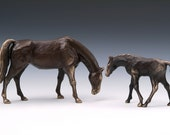 Bronze Horse figurine, Mare