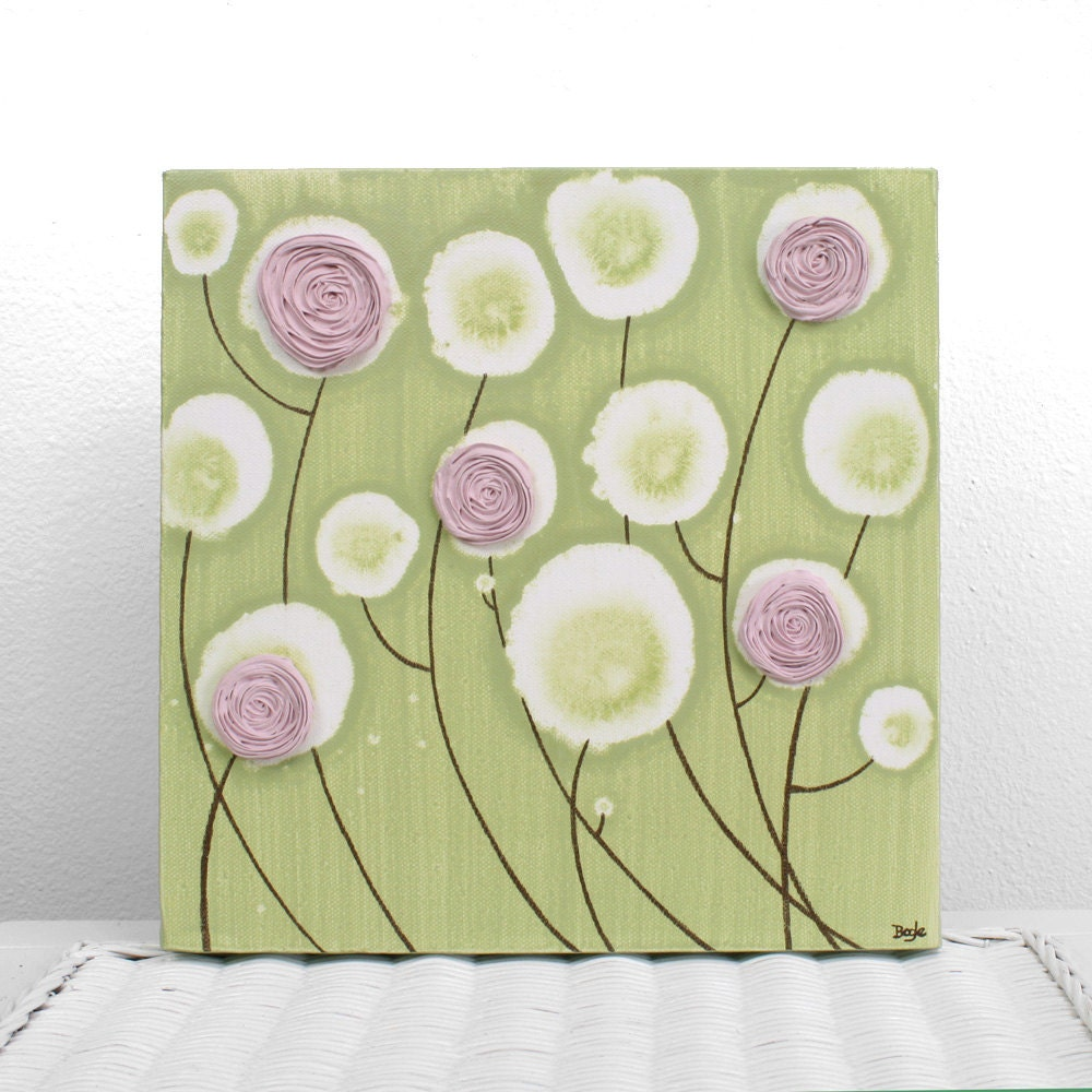 Wall Art Pink Green: Wall art designs spectacular pink and green ...