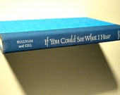 """Floating Shelf made from a Book - """"If You Could See What I Hear"""""""